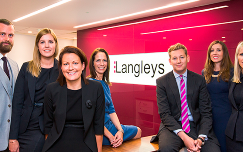 Langleys promotes seven members of staff