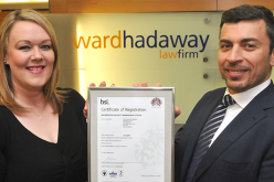 Information security seal of approval for Ward Hadaway