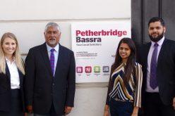New trainees join Petherbridge Bassra