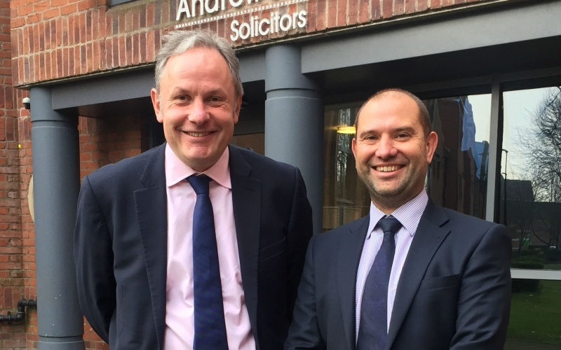 Andrew Jackson welcomes Adam Sinclair as its new business development director