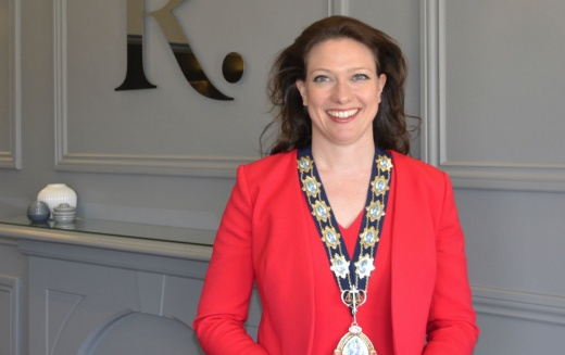 Kate Maybury becomes the Harrogate and District Law Society's new president