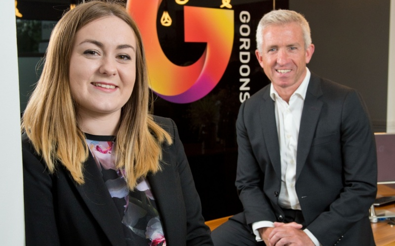 Gordons' pioneering apprenticeship scheme produces first graduate
