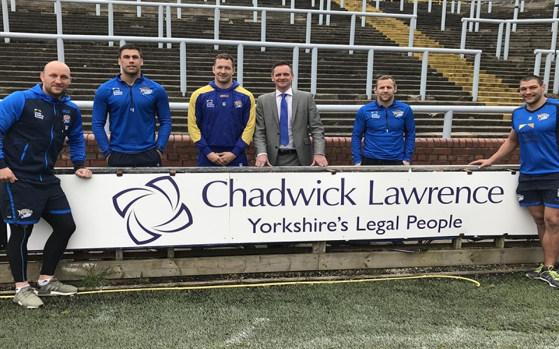 Chadwick Lawrence managing partner becomes trustee for Leeds Rhinos Foundation