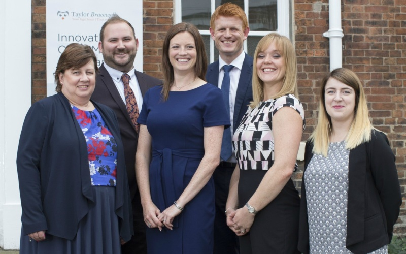Taylor Bracewell celebrates move to new Sheffield office