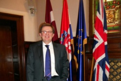 Justices' clerk David Greensmith receives OBE