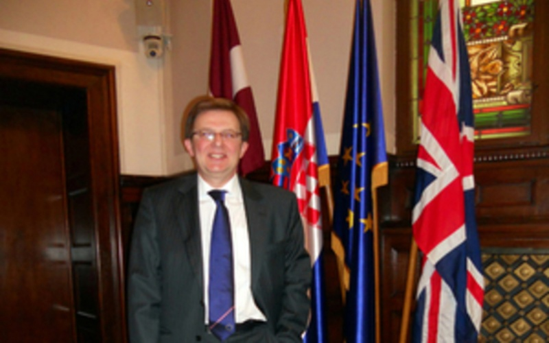 Justices' clerk David Greensmith receives OBE