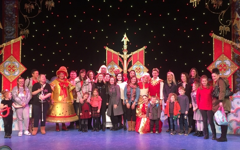 Switalskis delivers panto present to clients