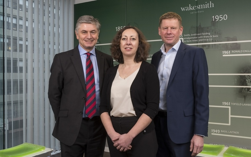 Wake Smith celebrates £100m corporate deals for first time