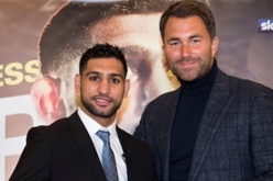 Walker Morris represents Amir Khan in boxing return
