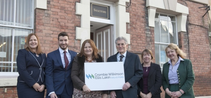 Crombie Wilkinson Solicitors and Ellis Lakin combine