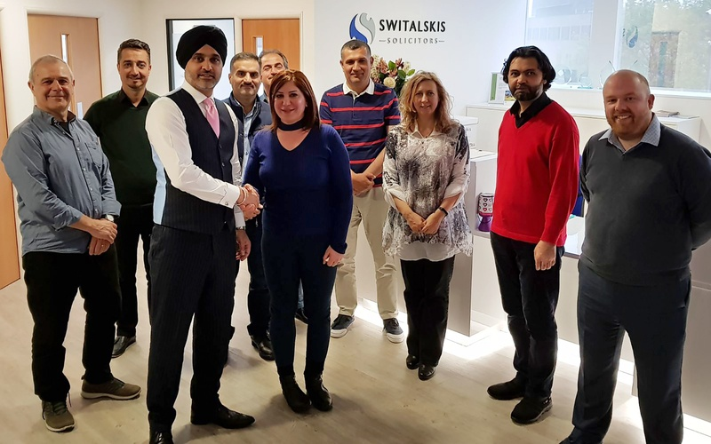 Switalskis hosts Kurdish ministers on foster care mission