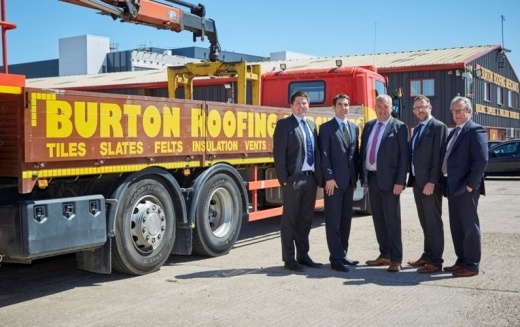 Andrew Jackson advises Burton Roofing on acquisition