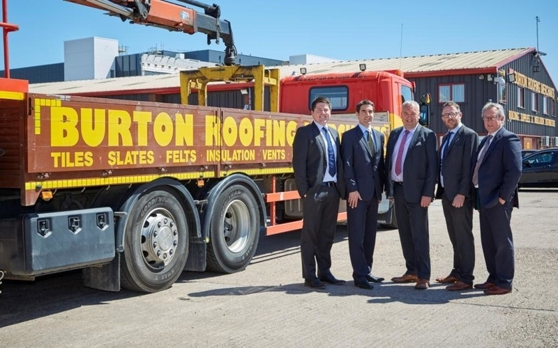 Andrew Jackson advises Burton Roofing on acquisition