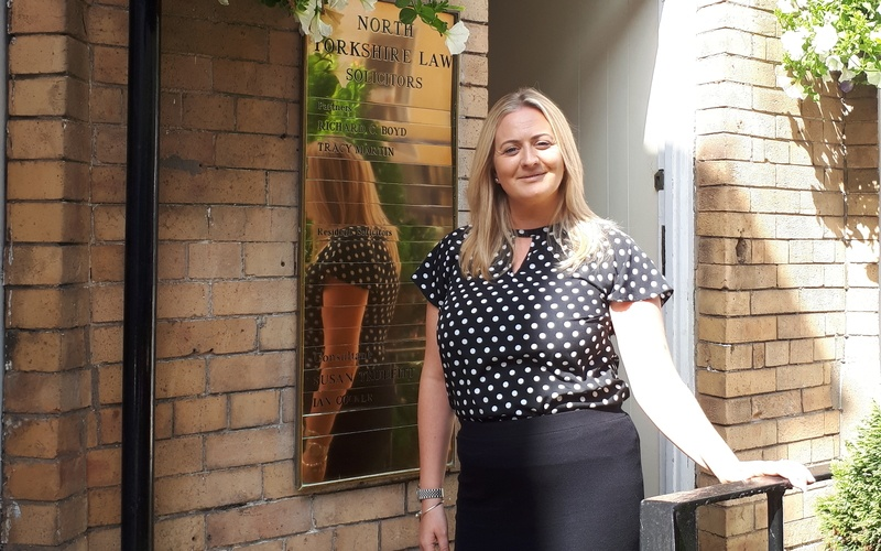 Natalie Foster progresses at North Yorkshire Law