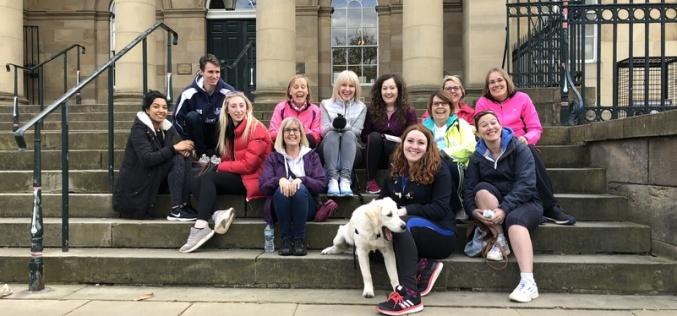 Hethertons highest fundraiser for York Legal Walk
