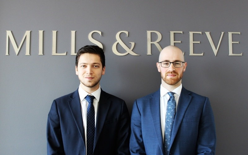 Hires for corporate and commercial intellectual property teams at Mills & Reeve in Leeds