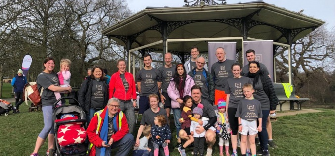 Park Square takes over Roundhay Park Parkrun