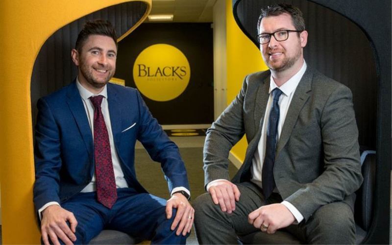 Blacks Solicitors promotes key duo | Yorkshire Legal