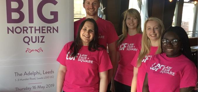 LCF Law Big Northern Quiz raises £1,752