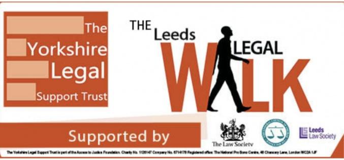 Leeds Legal Walk taking place on 24 June
