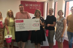 Morrish Solicitors raises £9,260 for Candlelighters