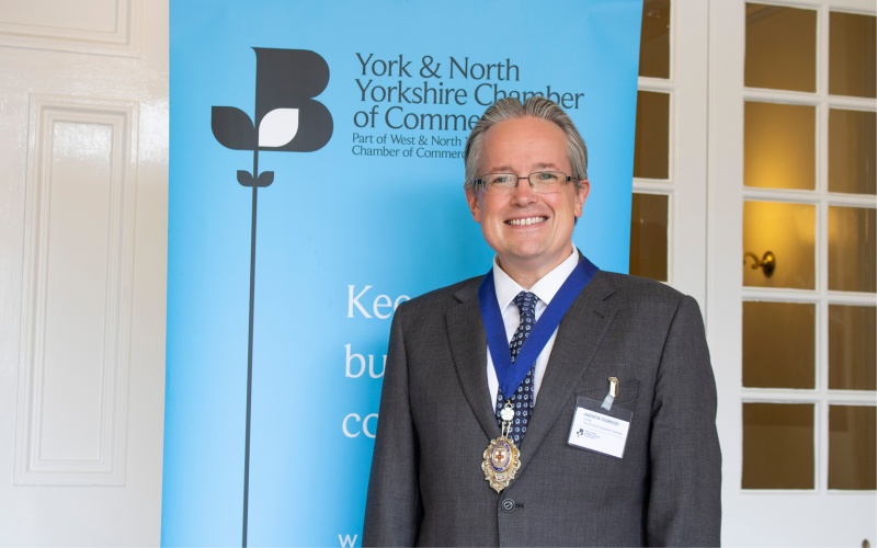 Rollits lawyer takes helm at York & North Yorkshire Chamber of Commerce