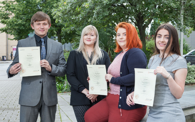 Apprenticeship route pays off at Taylor&Emmet