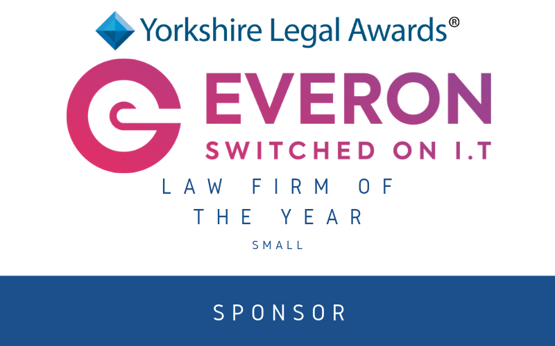 Everon IT joins Yorkshire Legal Awards as sponsor
