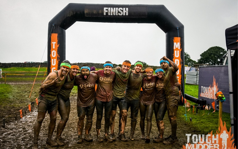 Keebles overcomes Tough Mudder to raise £800 for St. Luke's Hospice