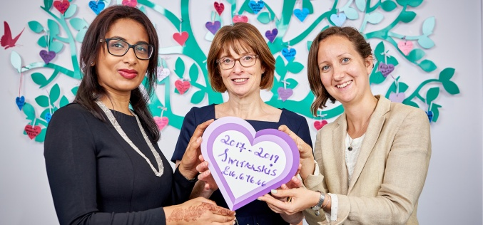 Switalskis sets £20,000 target for Children's Heart Surgery Fund