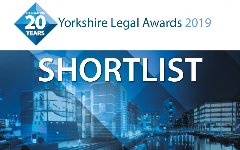 It's here! Read the Yorkshire Legal Awards 2019 shortlist
