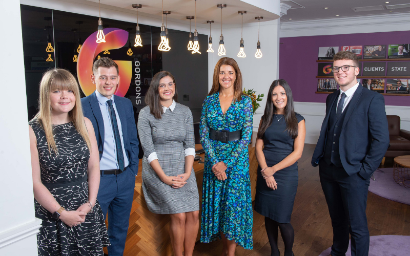 Gordons invests in new talent