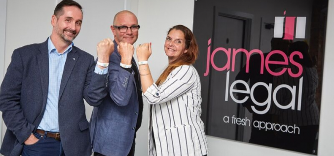 James Legal adopts workplace wellbeing tool