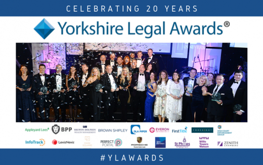 Celebrating 20 years: Yorkshire Legal Awards 2019 winners revealed