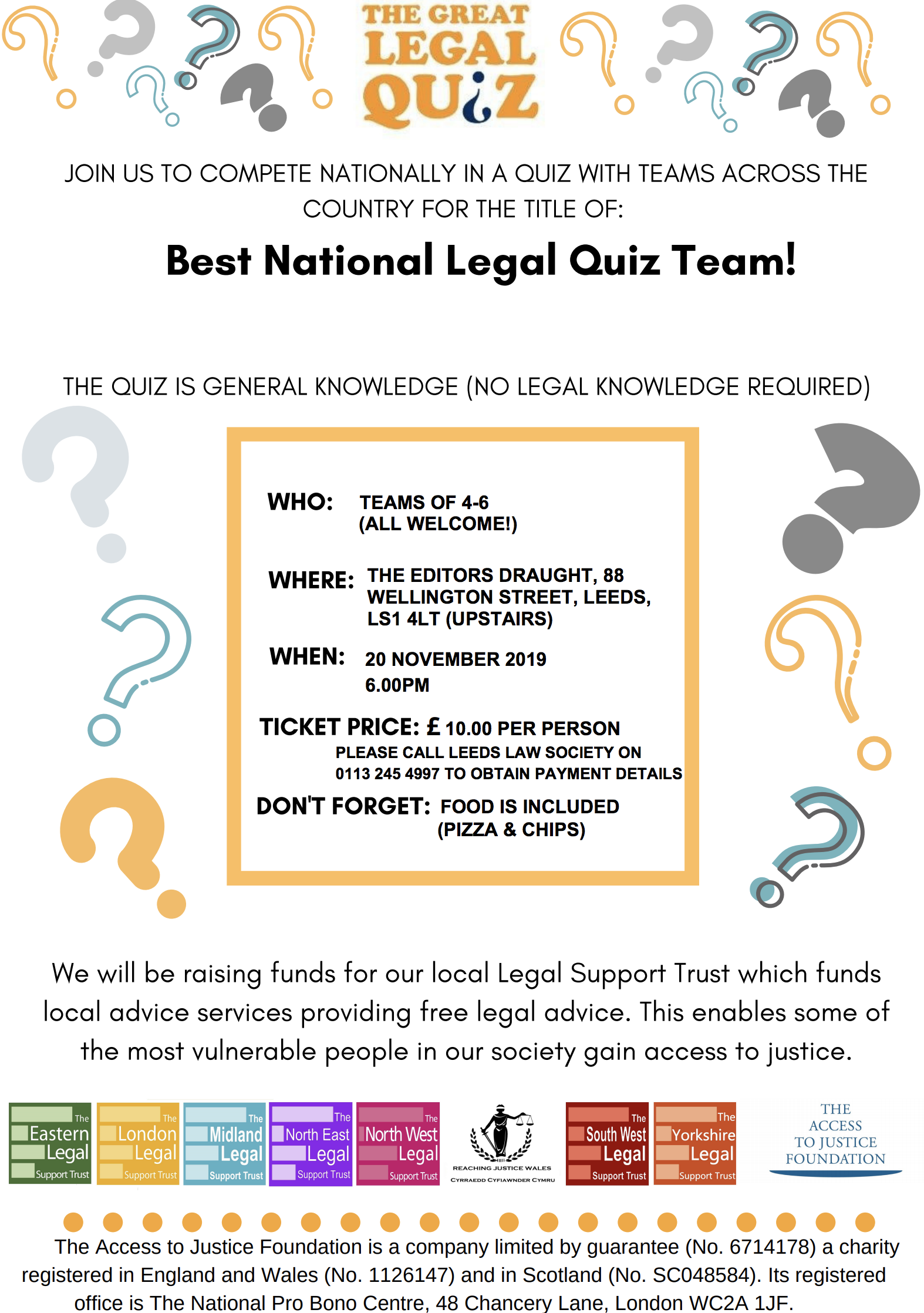 Great Legal Quiz poster