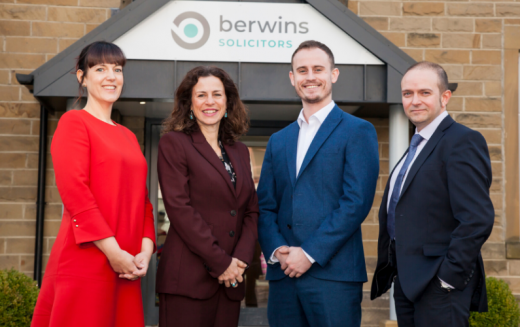 Berwins promotes four in life and business teams