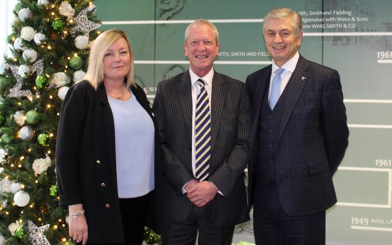 Wake Smith chairman Nick Lambert retires