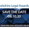 Yorkshire Legal Awards 2020 set for 8 October