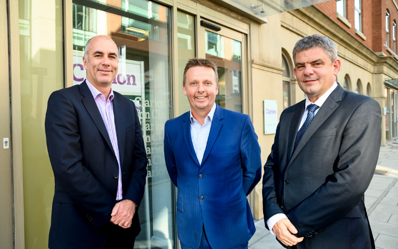 Turnover at Clarion tops £17m