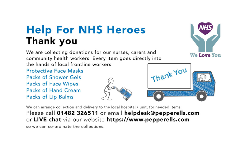 Pepperells Solicitors helping local NHS heroes during pandemic approach to pain management (1)
