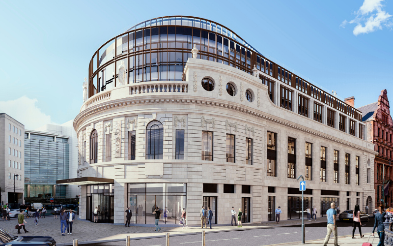 Knights takes office space at the Majestic in Leeds