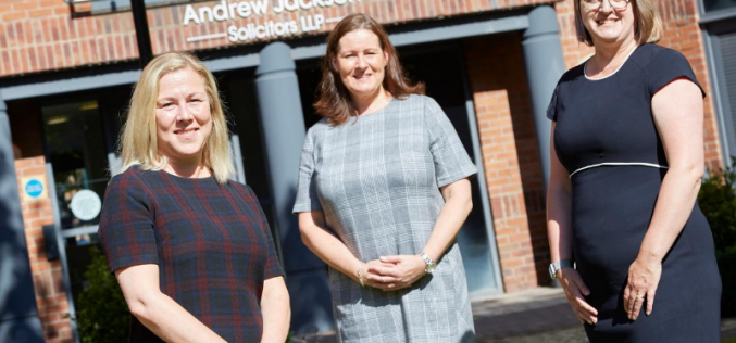 Andrew Jackson appoints trio to private client department
