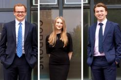 Gordons celebrates graduation of three apprentices