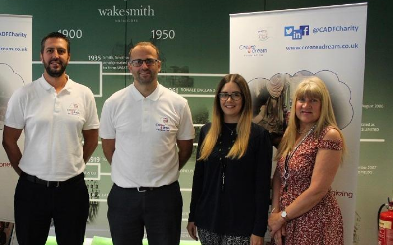 Wake Smith raises funds for Sheffield children's charity
