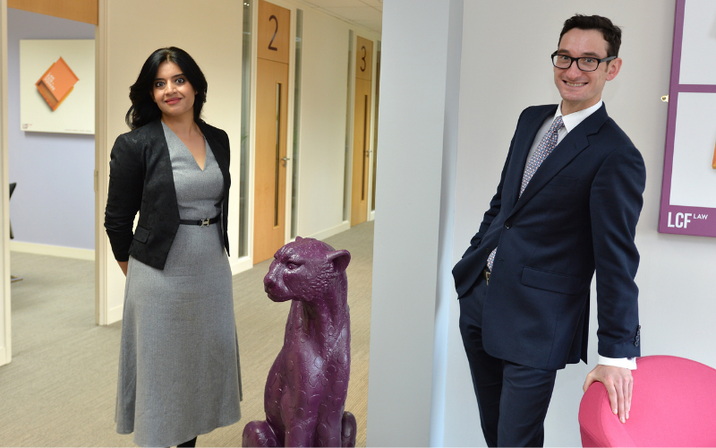 LCF Law promotes two solicitors to partner