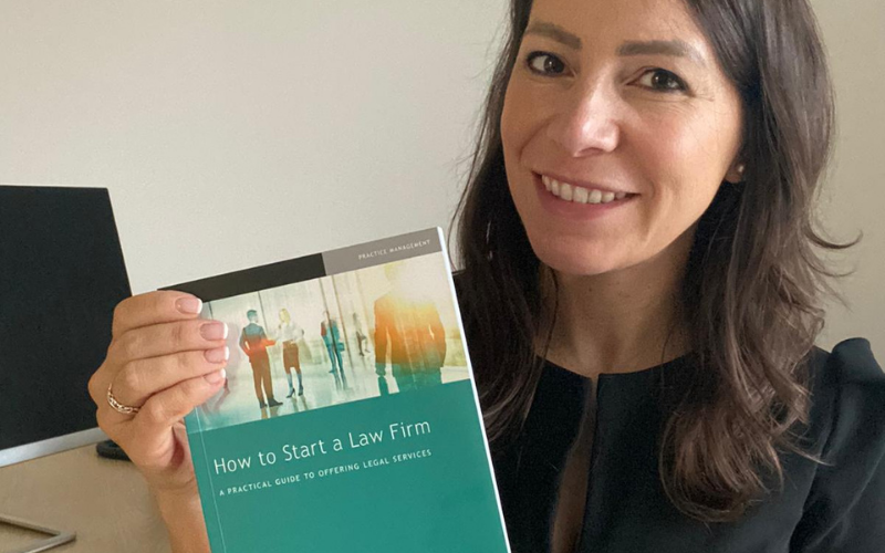 Rachel Roche launches Law Society-backed book on starting your own law firm