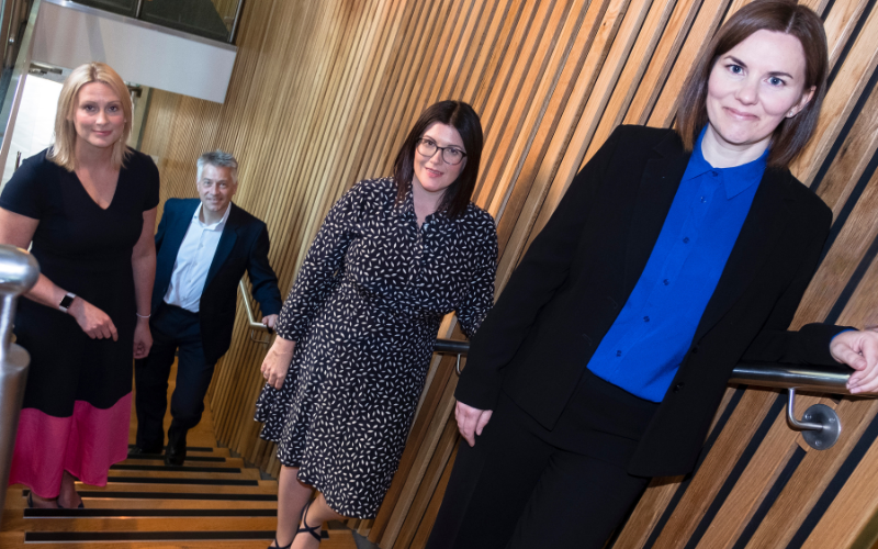 Keebles promotes three to partner