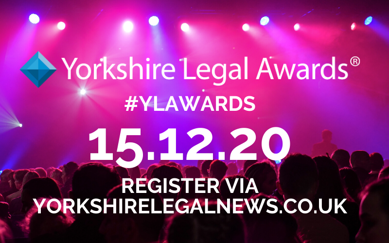 Get registered and ready for the Yorkshire Legal Awards 2020