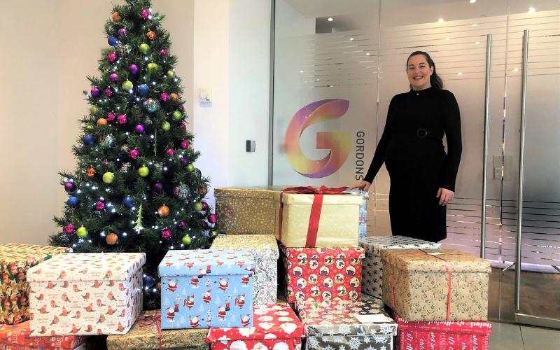 Gordons donates 70 festive hampers to Age UK Bradford District