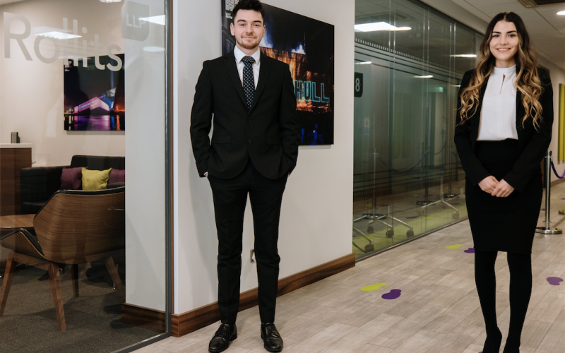 Rollits welcomes new trainees and revives work experience programme